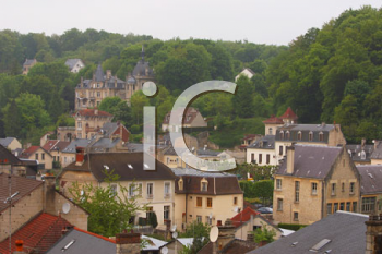 Royalty Free Photo of a City in France