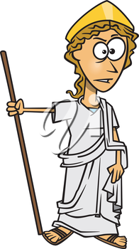 Royalty Free Clipart Image of Hera