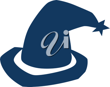 Royalty Free Clipart Image of a Witch's Hat