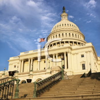 Royalty Free Photo of a Capitol Building in Washington, DC, USA