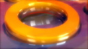 Royalty Free HD Video Clip of 3d Rings