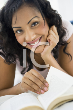 Royalty Free Photo of a Woman Reading