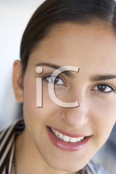 Royalty Free Photo of a Smiling Brunette