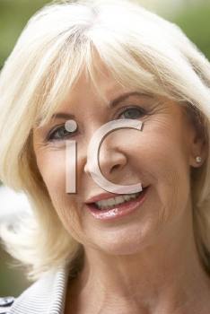 Royalty Free Photo of an Older Woman