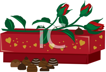 Royalty Free Clipart Image of a Happy Valentine's Day Greeting
