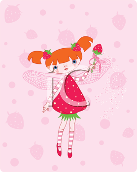 ca a Strawberry Fairy Flying