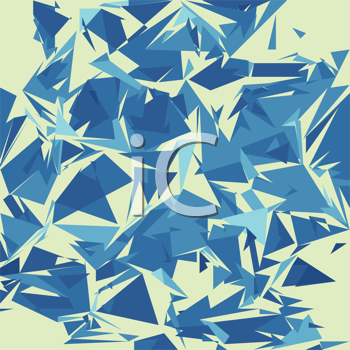 Royalty Free Clipart Image of a Broken Glass Textured, Background