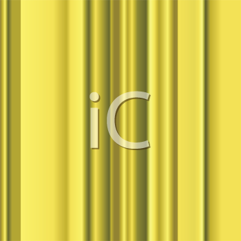 Royalty Free Clipart Image of Stripes on a Gold Background