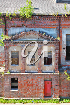 Royalty Free Photo of a Factory in Europe
