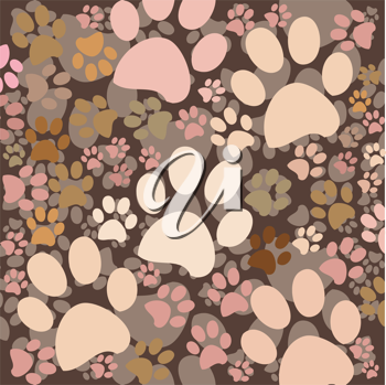 paws on background like a pastel camo