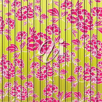 web background with flowers