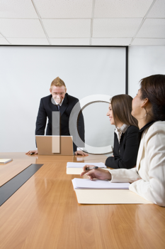 Royalty Free Photo of a Business Meeting