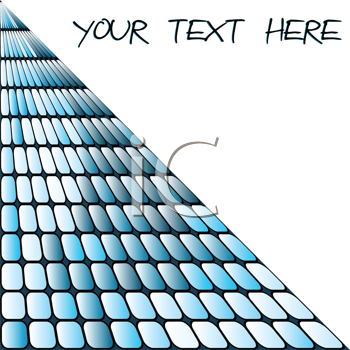 Squares background with place for sample text