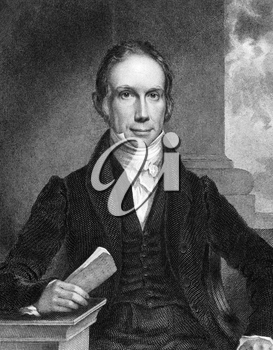 Henry Clay (1777-1852) on engraving from 1834. American lawyer, politician and orator. Engraved by W.J Hubard and published in ''National Portrait Gallery of Distinguished Americans'',USA,1834.