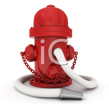 3D Illustration of a Fire Hydrant