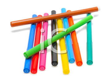 Royalty Free Photo of Felt Pens