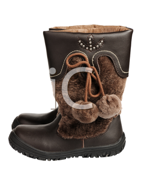 Royalty Free Photo of Children's Boots
