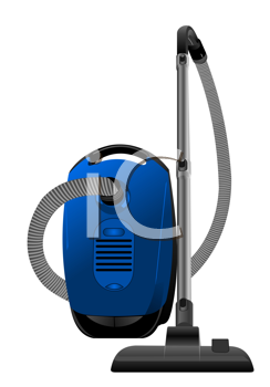 Royalty Free Clipart Image of a Vacuum Cleaner