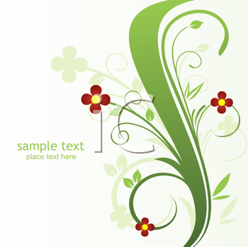 Royalty Free Clipart Image of a Decorative Background