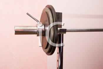 Royalty Free Photo of a Barbell
