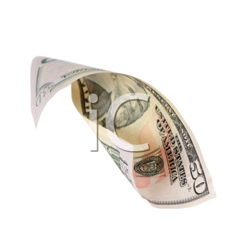 Royalty Free Photo of a Fifty Dollar Bill