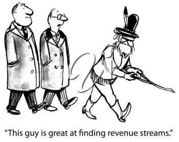This guy is great at finding revenue streams.