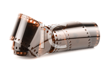 Royalty Free Photo of a 35 mm Roll of Film