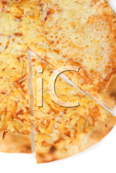 Royalty Free Photo of a Pizza