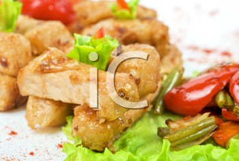 Royalty Free Photo of Oriental Appetizers