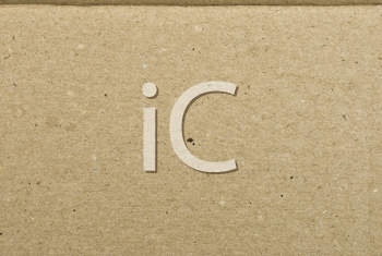 Royalty Free Photo of a Cardboard Background