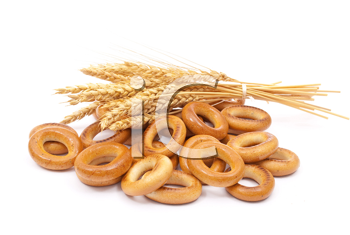 Bagels with wheat ears