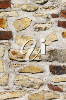 old stone and brick wall texture