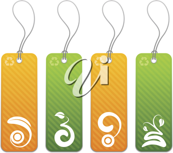 Royalty Free Clipart Image of Elements