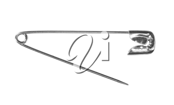 Close-up of a safety pin
