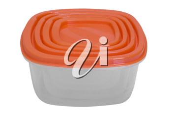 Close-up of a plastic container