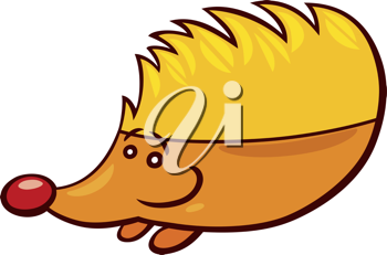 Royalty Free Clipart Image of a Hedgehog