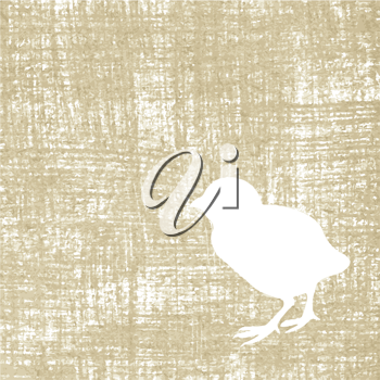 Royalty Free Clipart Image of a Bird Background