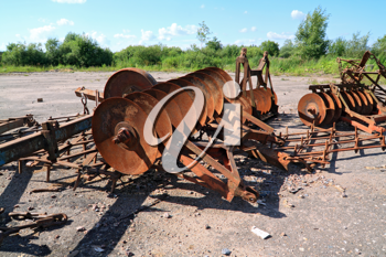 old agricultural mechanisms