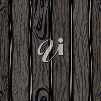 Wood texture seamless background, EPS10 - vector graphics.