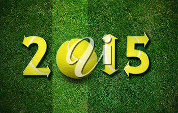 Happy new sport year 2014 with Football, the same concept available for 2015, 2016 and 2017 year.