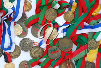 Royalty Free Photo of Medals