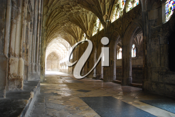 Royalty Free Photo of the Famous Gloucester Cathedral, England