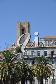 Royalty Free Photo of the Oldest Church in Portugal