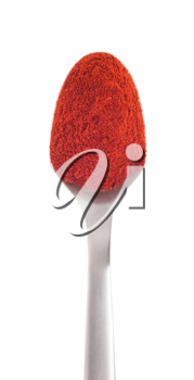 Royalty Free Photo of a Spoonful of Paprika