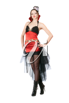 Royalty Free Photo of a Woman in Costume