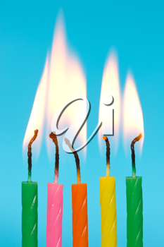 Royalty Free Photo of Birthday Candles