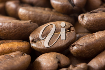 Royalty Free Photo of Roasted Coffee Beans