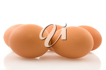 Royalty Free Photo of Brown Eggs