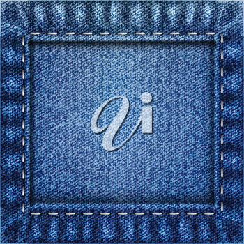 Royalty Free Clipart Image of Jeans
