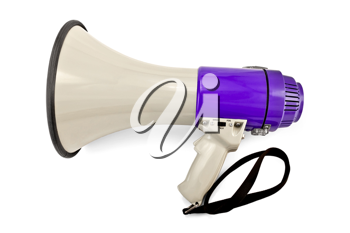 Royalty Free Photo of a Megaphone